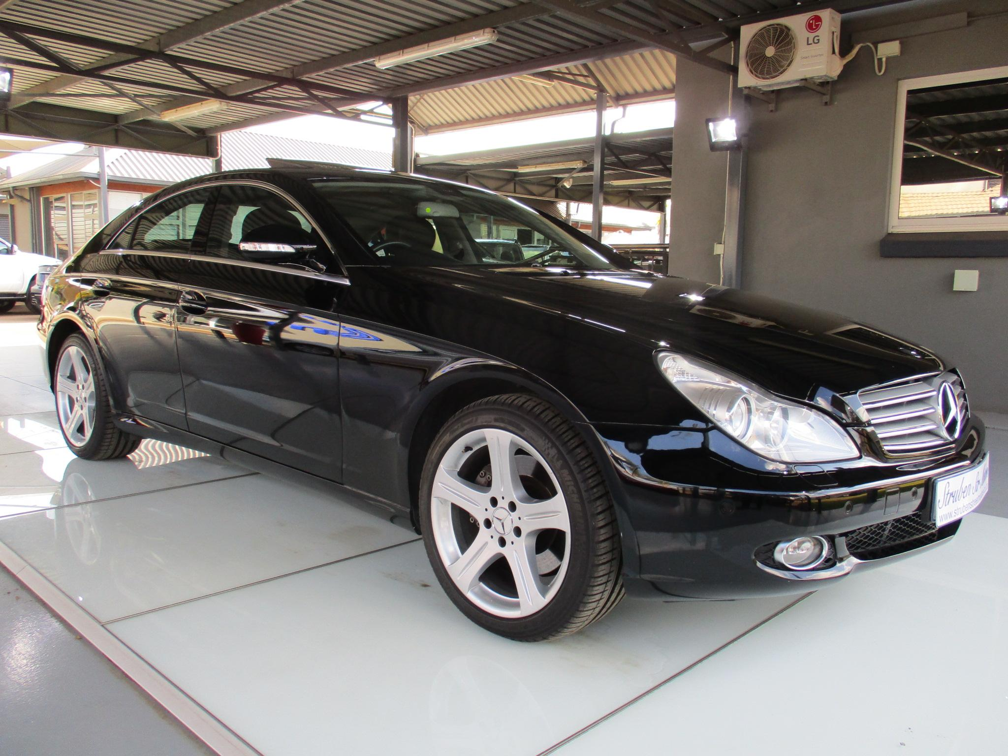 2006 Mercedes Benz Cls Class Cls500 Nav Sunroof Xenon 61154km 500 R209900